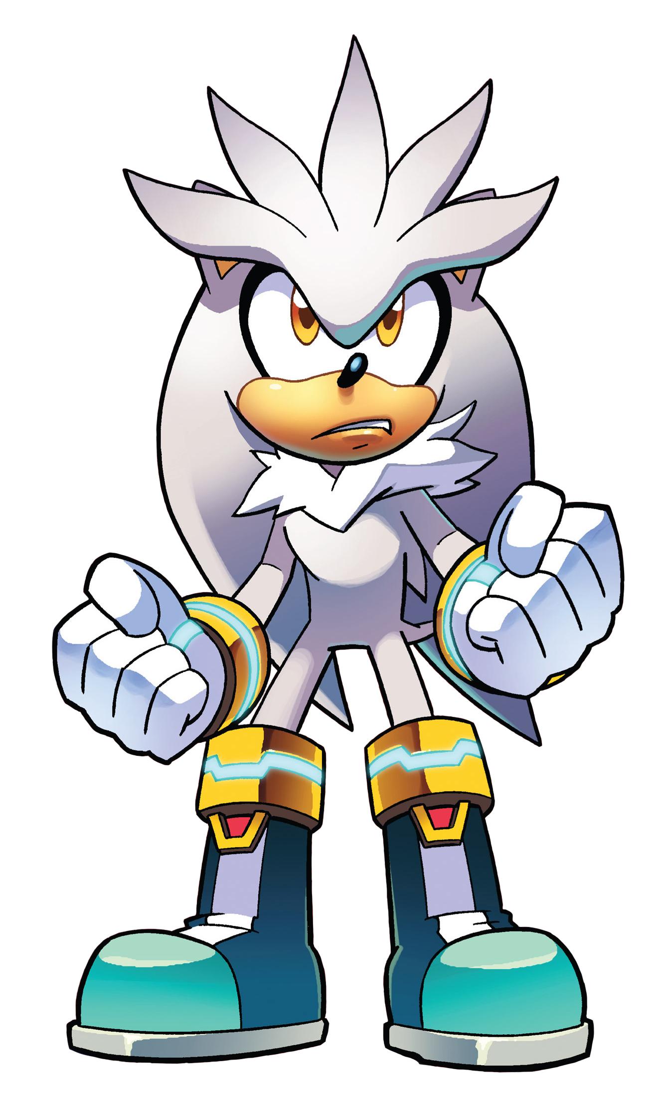 Silver the Hedgehog | Mobius Encyclopaedia | FANDOM powered
