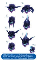 Second Devourer Head Designs