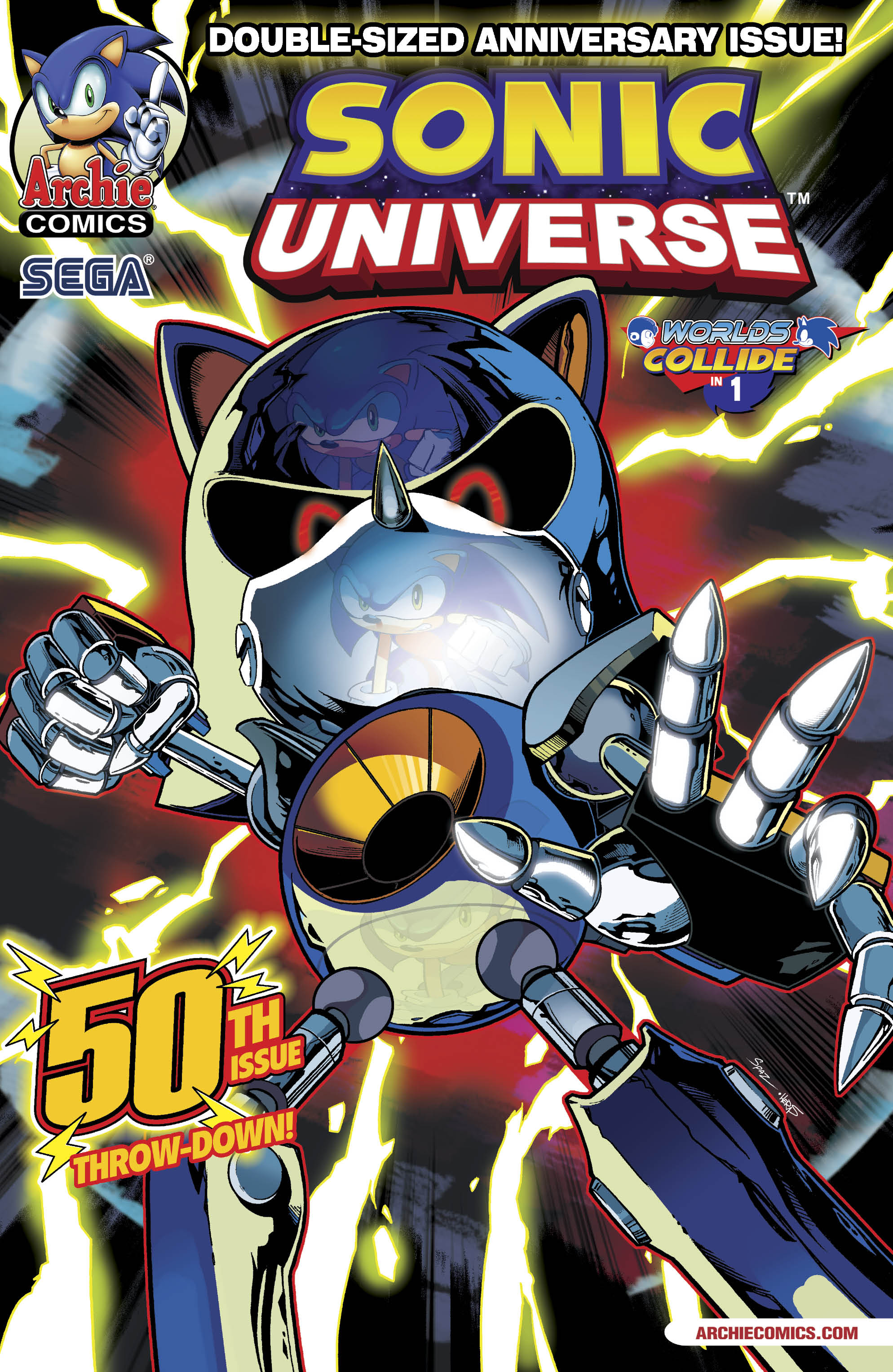 Image result for archie sonic universe 50
