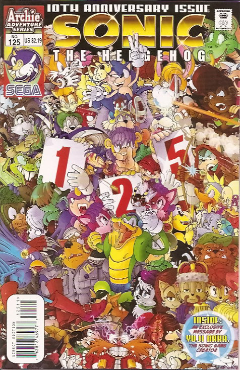 archie sonic the hedgehog issue 125