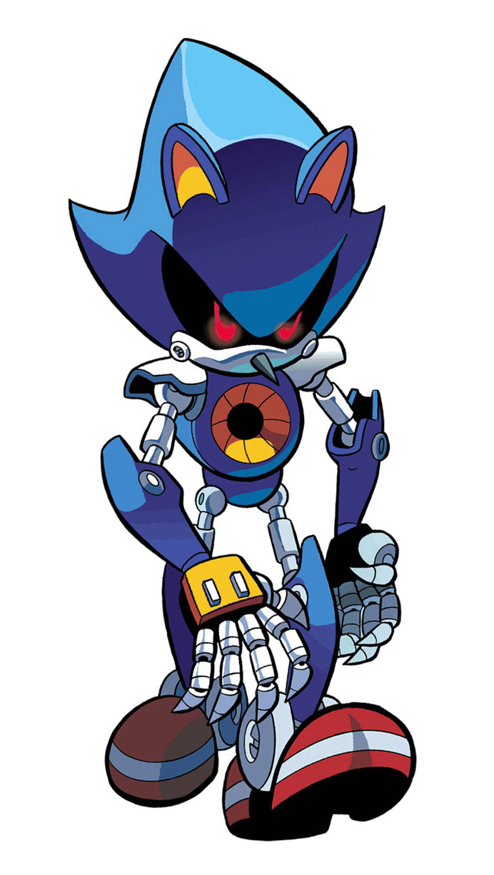Metal Sonic by inualet on DeviantArt