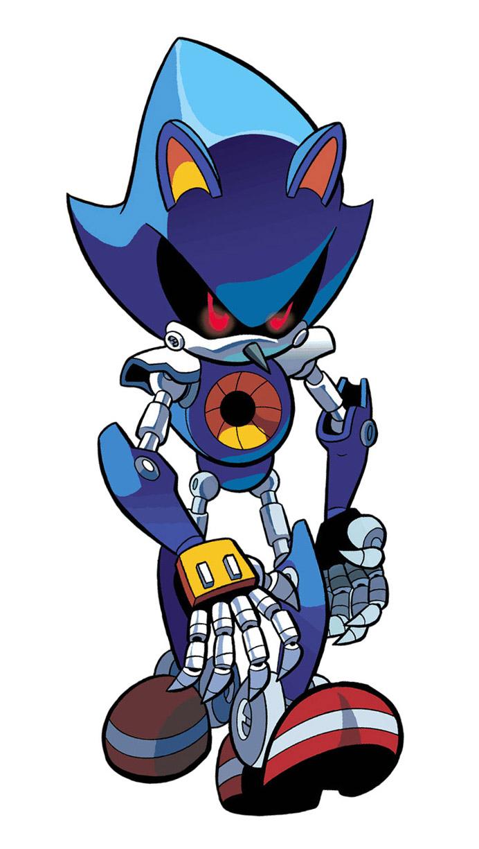 Metal Sonic Mobius Encyclopaedia Fandom Powered By Wikia