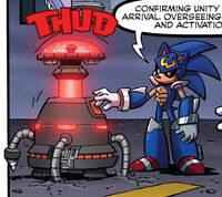 Sonic Man Oversees Unity Engine