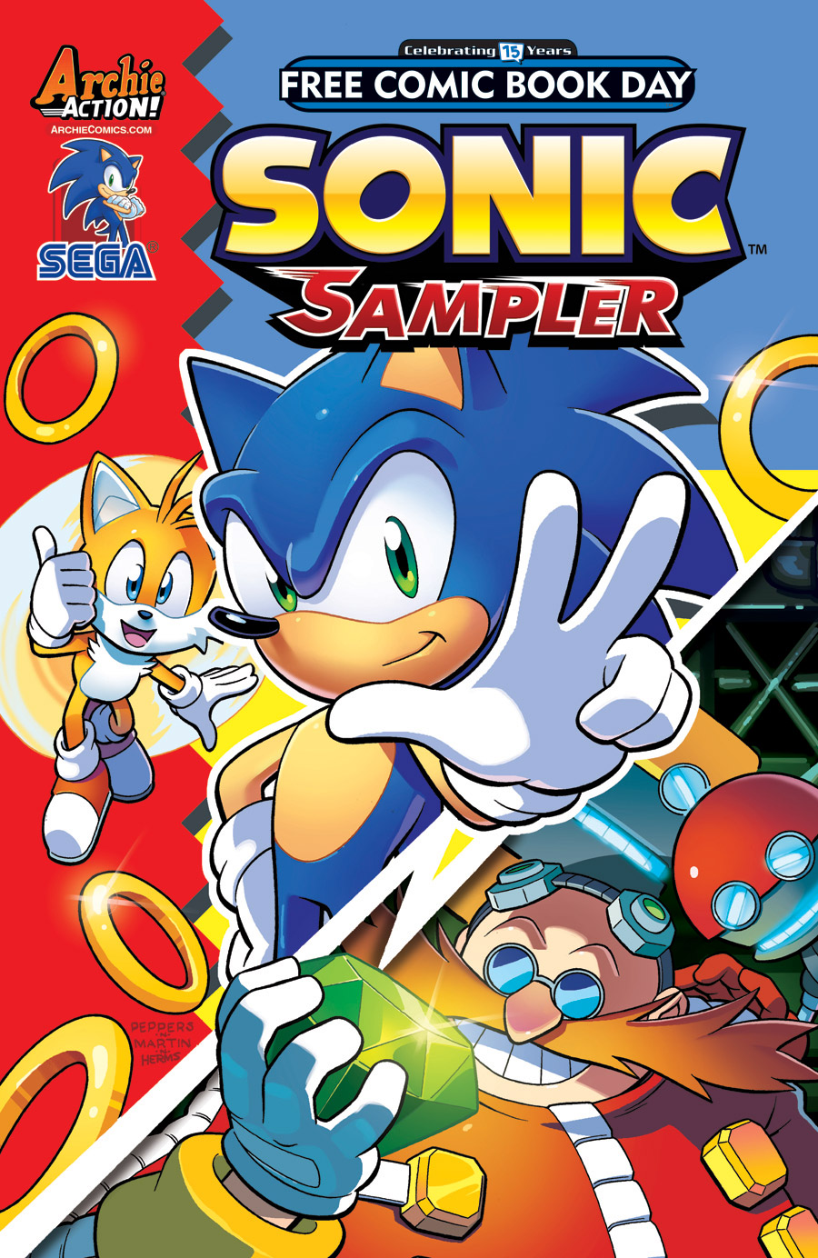 Sonic Free Comic Book Day 2016 | Mobius Encyclopaedia ...