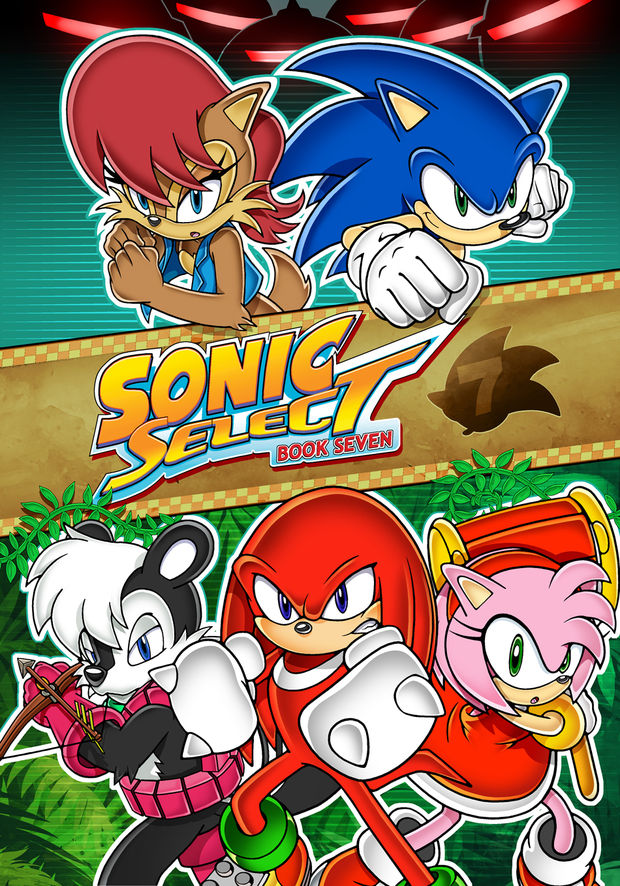 SONIC SUPER SPECIAL #2 COVER ART LIMITED EDITION PRINT Signed by Ken Penders