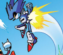 Mecha Sonic Robot Profile