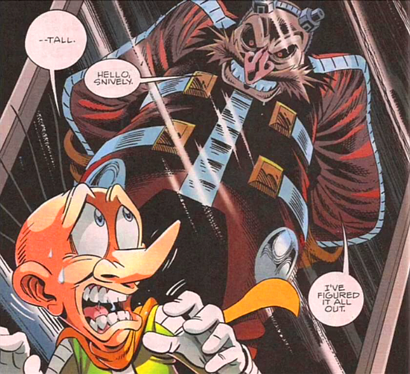 Image result for archie sonic eggman insanity