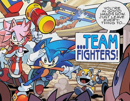 Image result for archie sonic team fighters