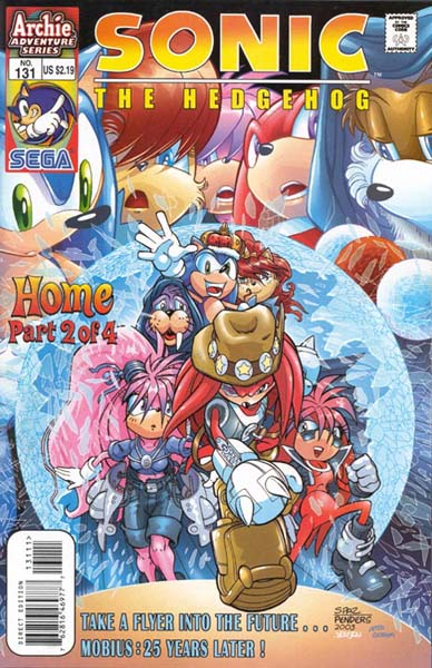 Archie Sonic The Hedgehog Issue 131 Mobius Encyclopaedia