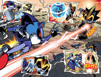 Shard and Metal Sonic