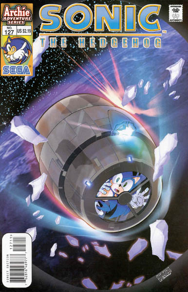 Image result for archie sonic in space
