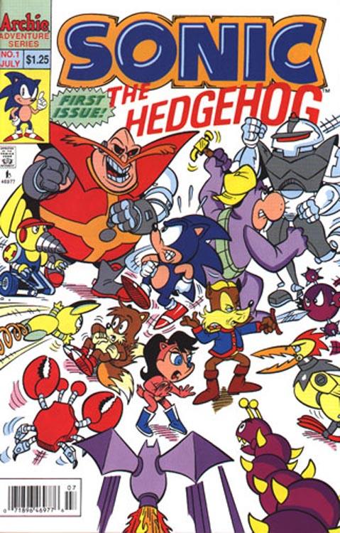 archie sonic the hedgehog issue 1 mobius encyclopaedia fandom