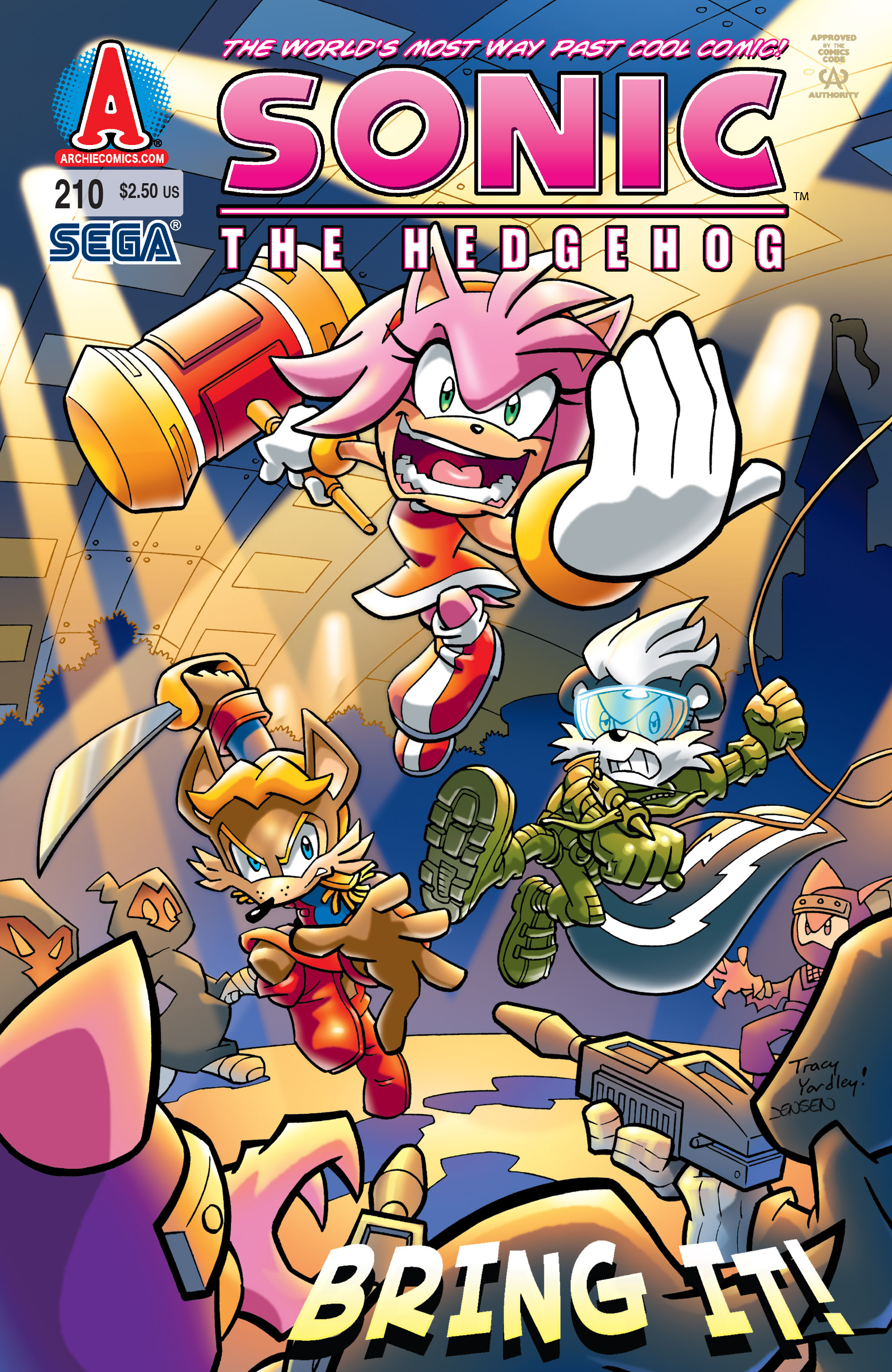 Archie Sonic The Hedgehog Issue 210 Mobius Encyclopaedia
