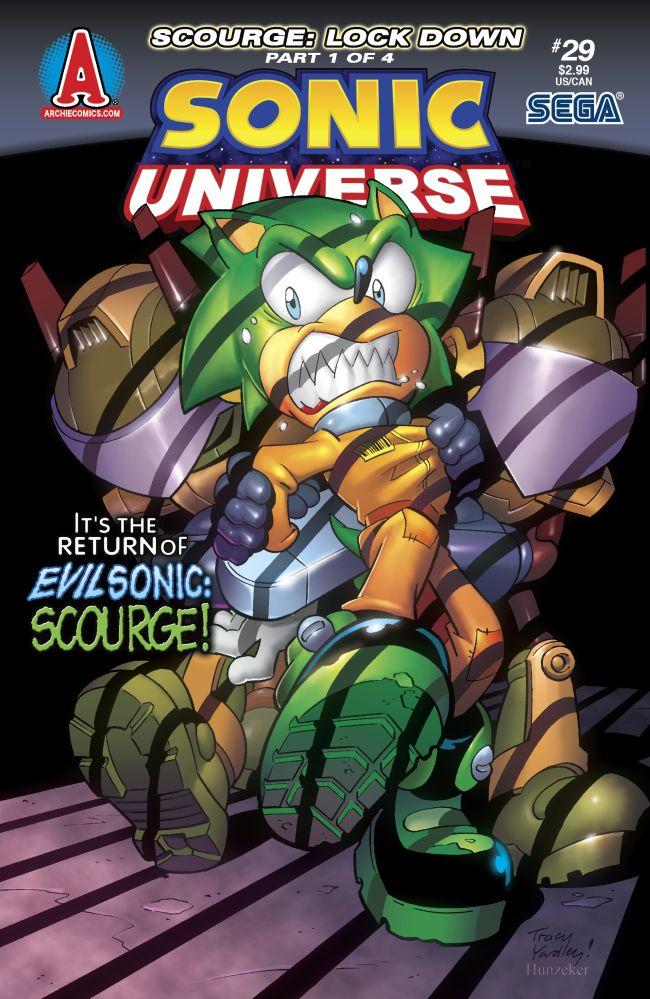 Archie Sonic Universe Issue 29 Mobius Encyclopaedia Fandom