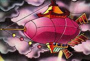 Iron Queen's dirigible