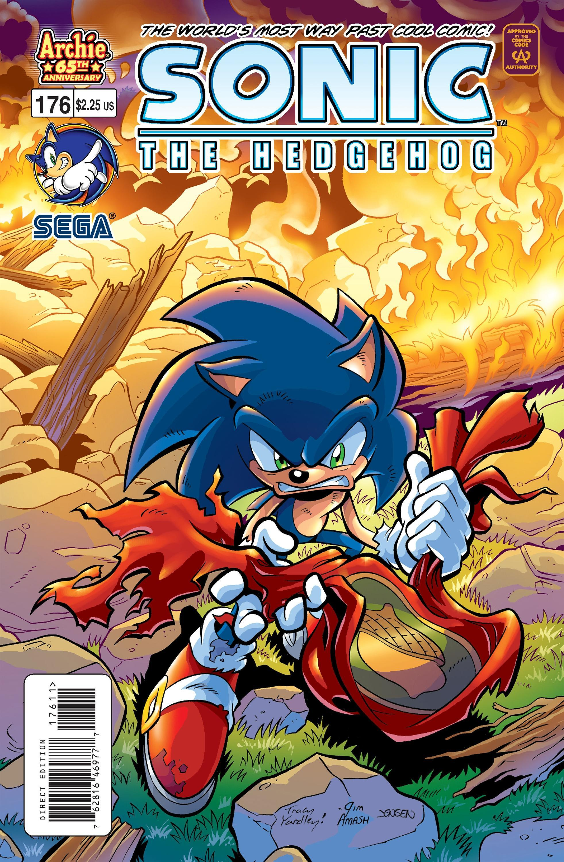 Archie Sonic the Hedgehog Issue 176 | Mobius Encyclopaedia