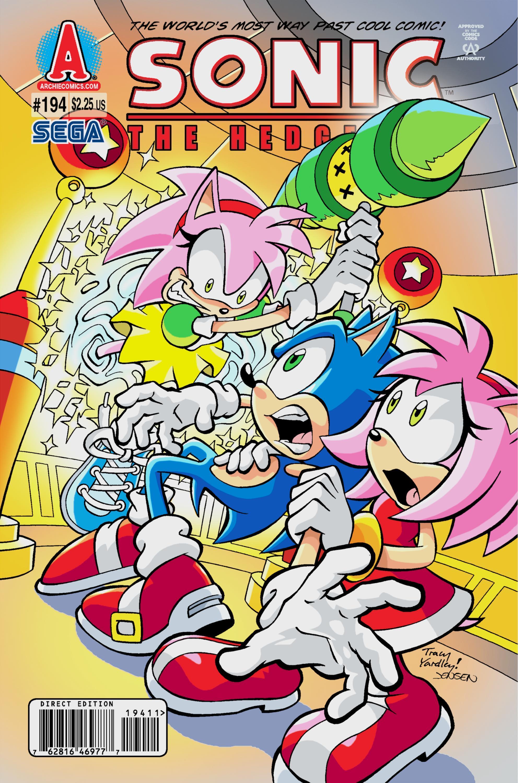 Archie Sonic The Hedgehog Issue 194 Mobius Encyclopaedia Fandom
