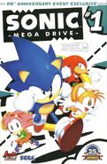 Sonic Mega Drive Variant