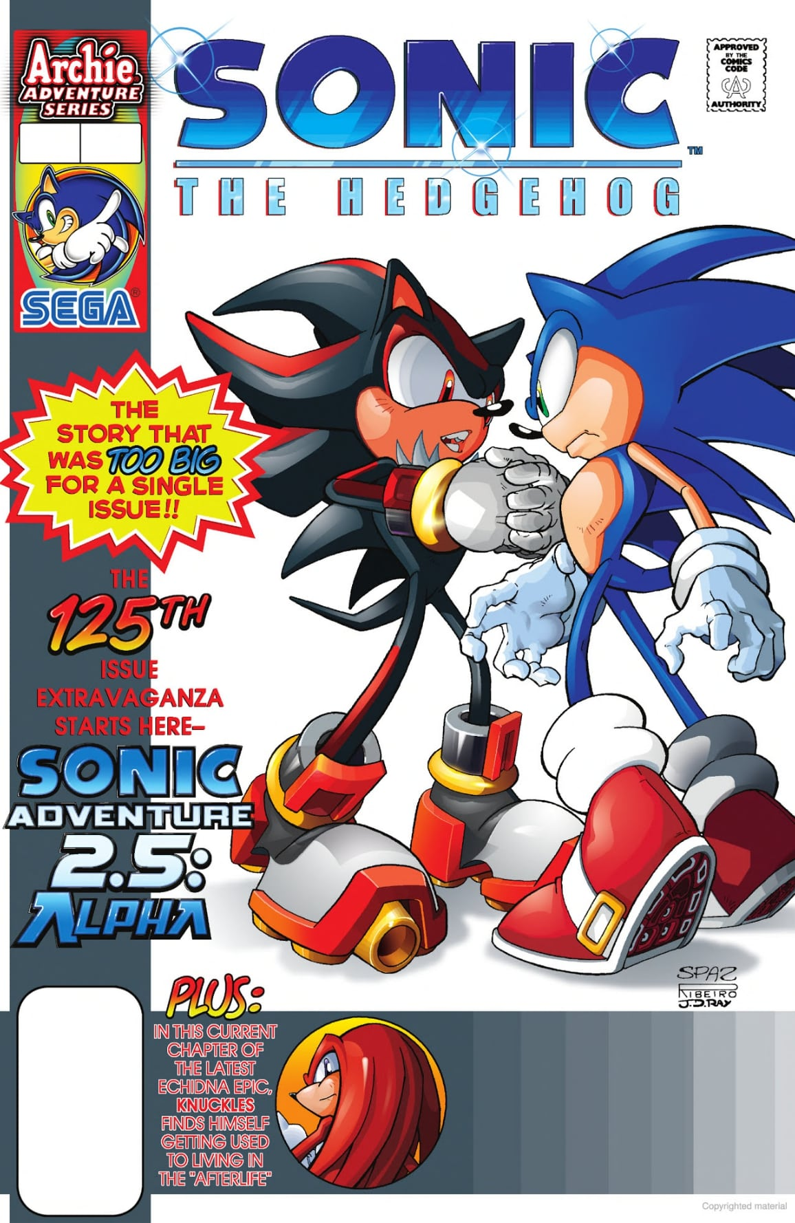 Archie Sonic the Hedgehog Issue 124 | Mobius Encyclopaedia
