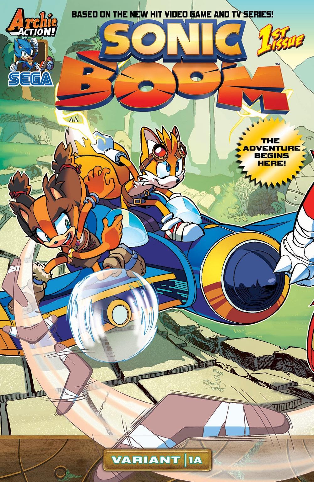 Archie Sonic Boom Issue 1 Mobius Encyclopaedia Fandom