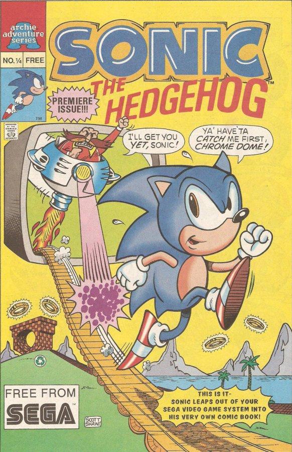 archie sonic the hedgehog issue 1 4 mobius encyclopaedia fandom