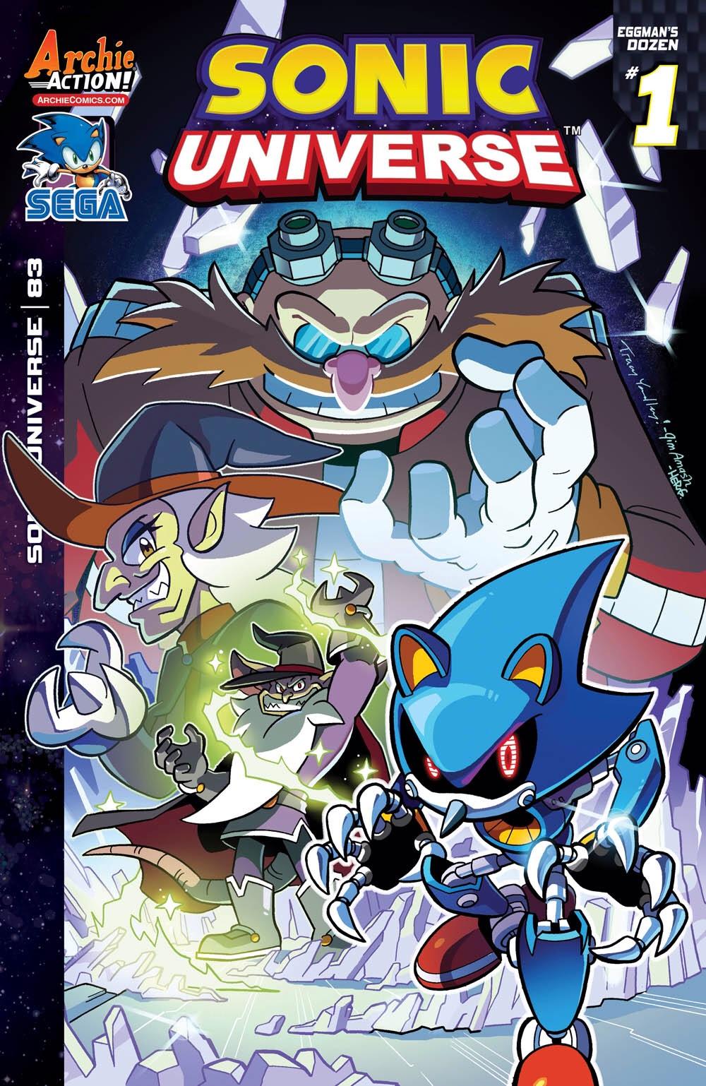 Archie Sonic Universe Issue 83 | Mobius Encyclopaedia | FANDOM