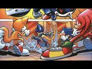Sonic free comic book day 2007