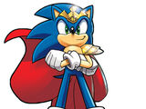 Sonic the Hedgehog (Light Mobius)