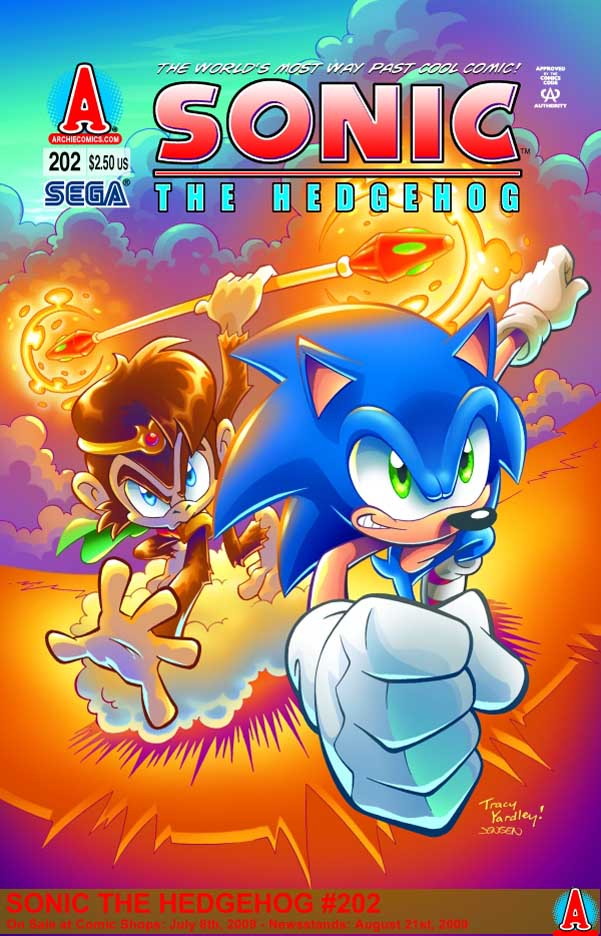 Archie Sonic The Hedgehog Issue 202 Mobius Encyclopaedia