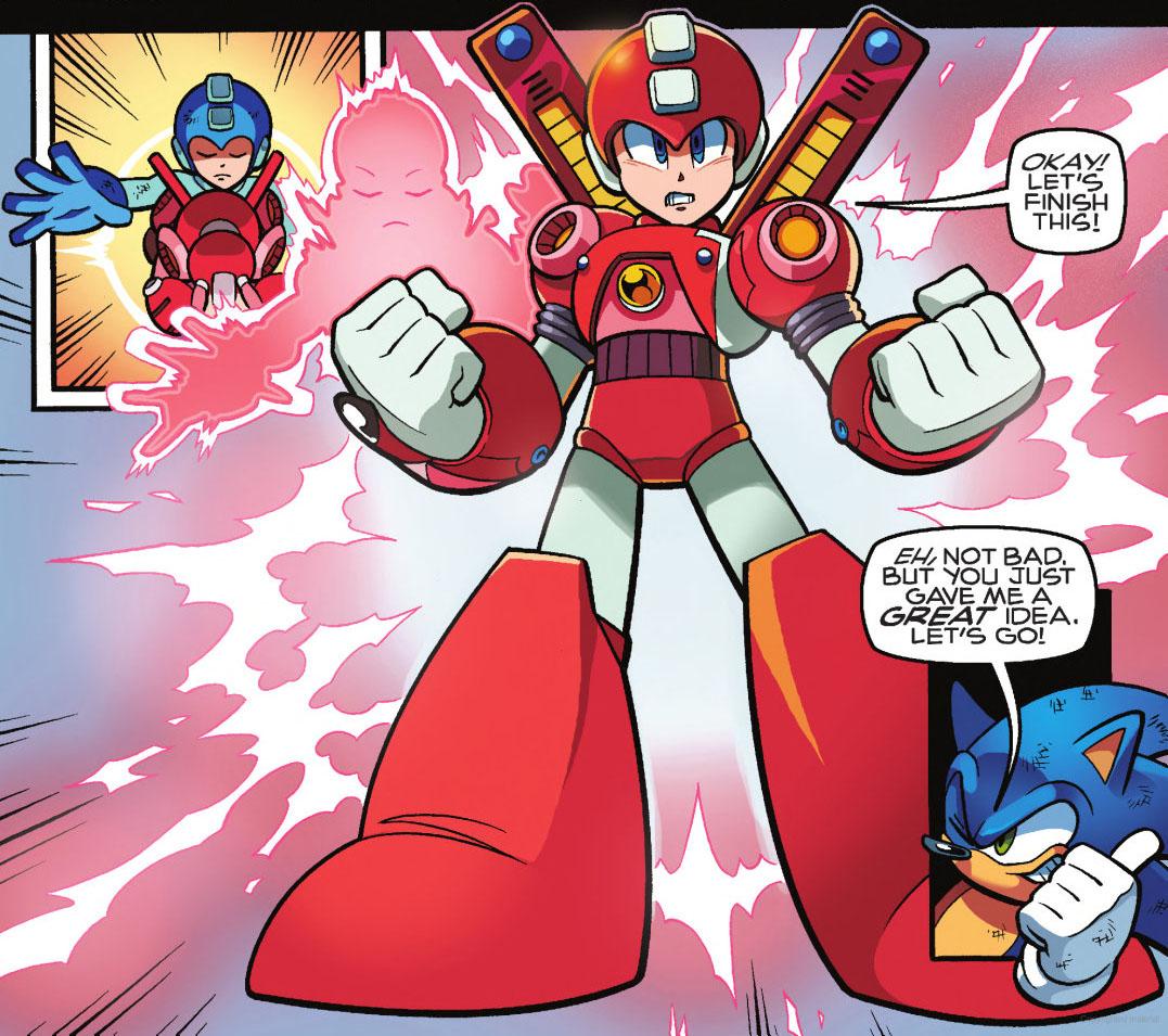 Super Armor Mega Man | Mobius Encyclopaedia | FANDOM powered by Wikia