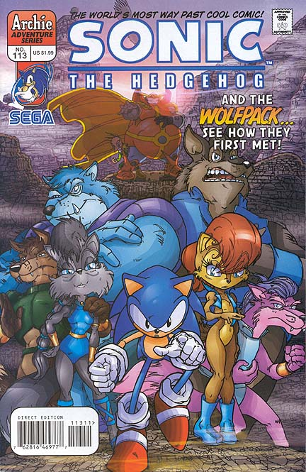 sonic comic 99