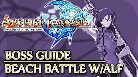 Ⓦ Arc Rise Fantasia Boss Guide, Dolphin - Beach Battle (Alf, Adele, Leslie)