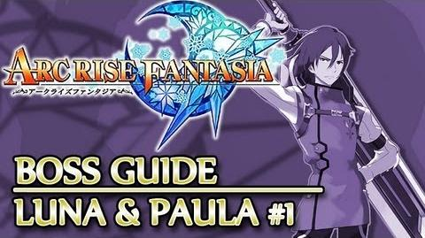 Ⓦ Arc Rise Fantasia Boss Guide, Dolphin - Luna and Paula Boss Fight 1