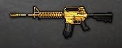 M4A1 AC Gold Icon