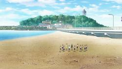 Area no Kishi - Higashihama beach