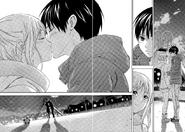 Kakeru and Nana finally kiss 497-1516