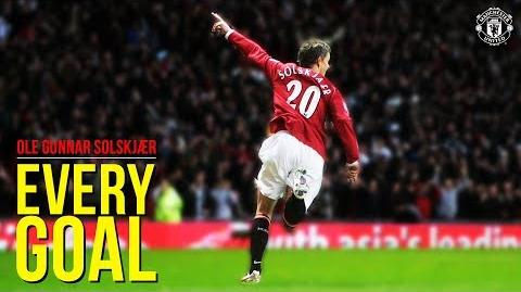 Every Goal - Ole Gunnar Solskjaer - Manchester United