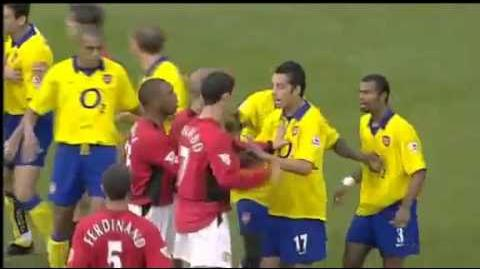The Battle of Old Trafford, September 2003