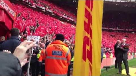 Sir Alex Ferguson's Guard of Honour (May 13, 2013)