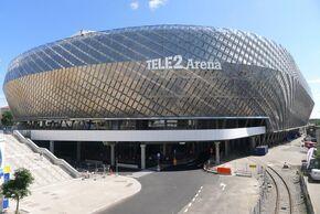 Tele2 arena exterior