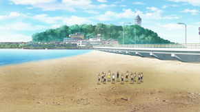 Higashihama beach