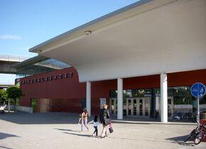 Eriksdalsbadet (Front door)