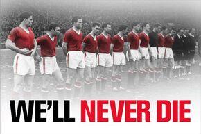 1958 Manchester United team (Banner)