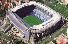 Santiago Bernabeu Stadium (Exterior)