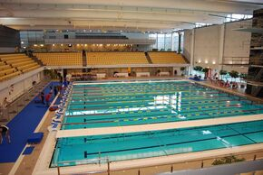 Eriksdalsbadet (25 m indoor swimming pool)