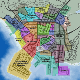 Los Santos neighbourhoods