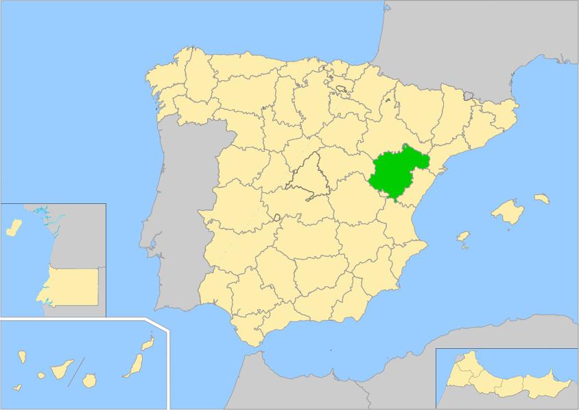 Provincia De Teruel Mapa.Teruel Provincia Wiki Arefepedia H Fandom Powered By Wikia