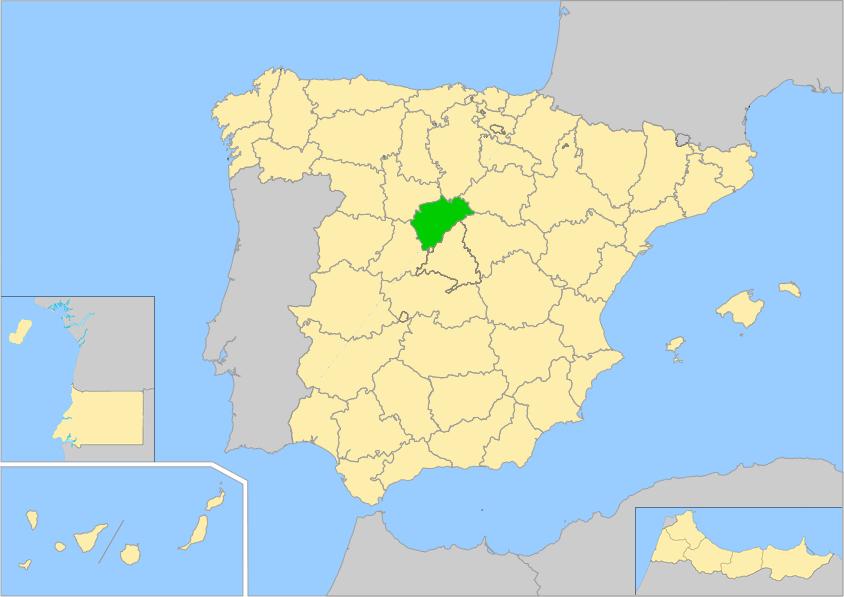 Provincia De Segovia Mapa.Segovia Provincia Wiki Arefepedia H Fandom