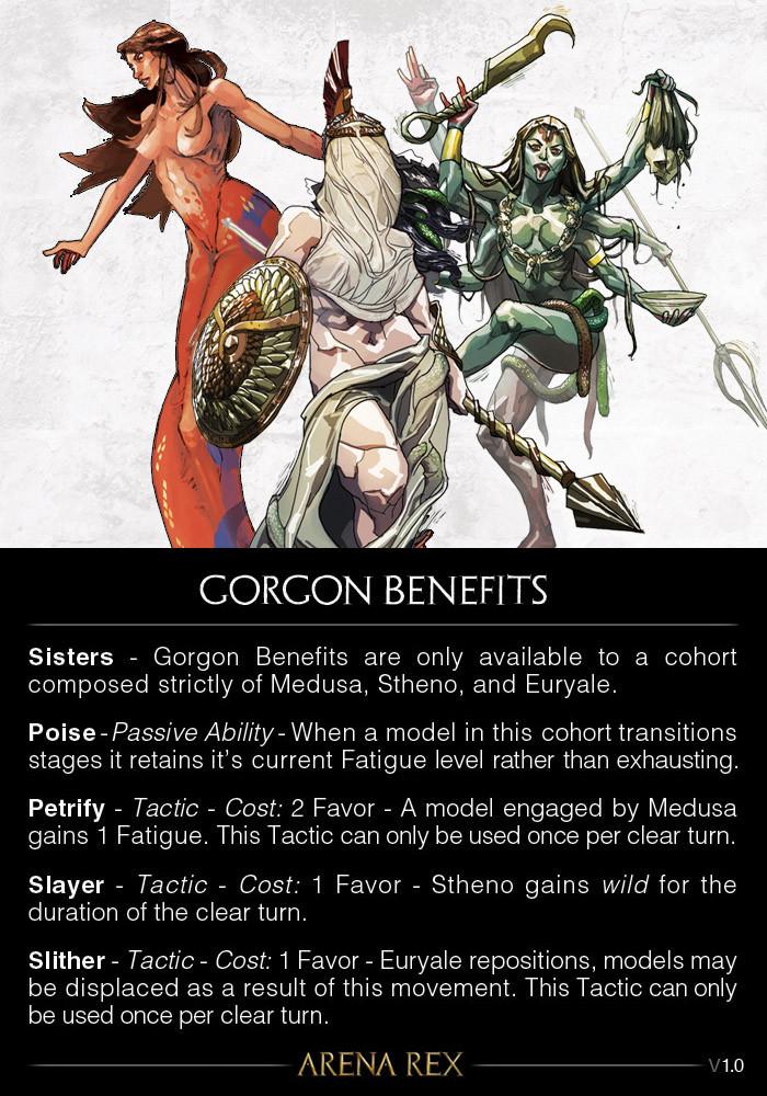 Gorgon Benefits