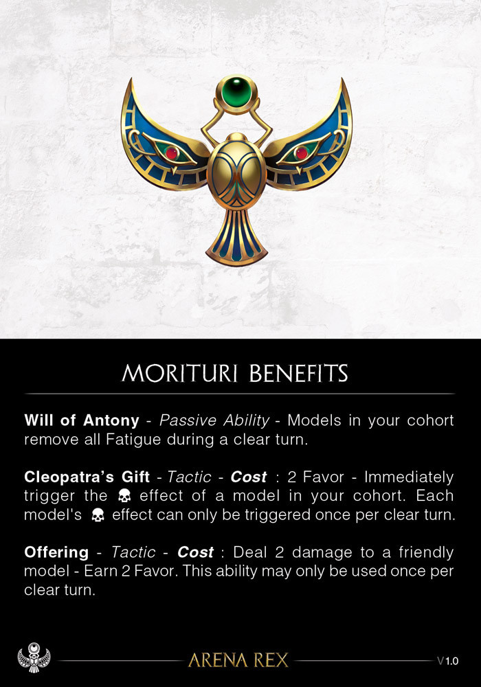 Morituri Benefits